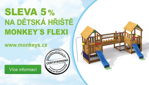 Dětské hřiště Monkey's Flexi se slevou 5%