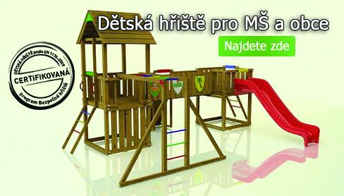Dětská hřiště pro obce a školy
